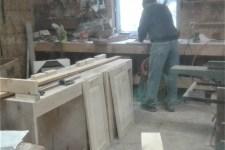 Sanding doors