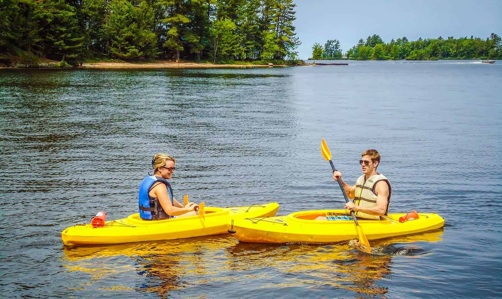Summer Fun - Kayaks