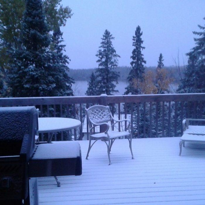 Snow October 28, 2018