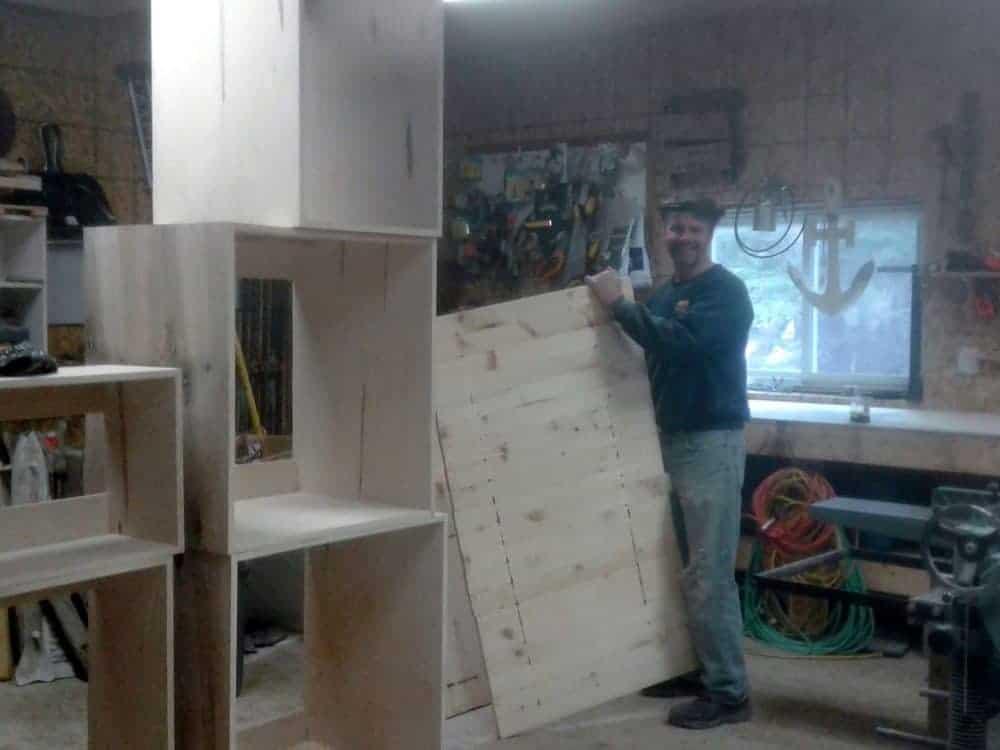 Building New Kitchen for Hilltop Cottage