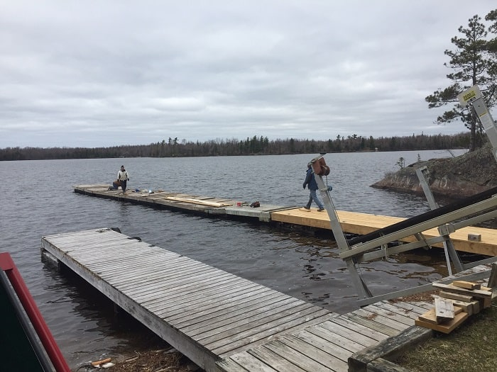 Putting out all docks